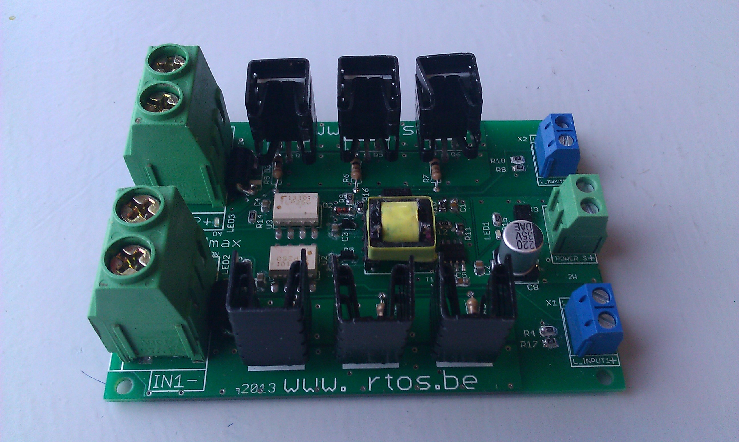 High Side Mosfet Board An Elance Experience Using Highside Switches At Higher Voltages Switching