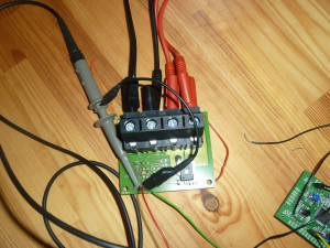 high-power sensor board