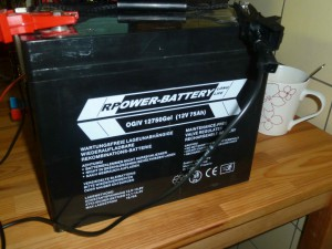 deep-cycle battery