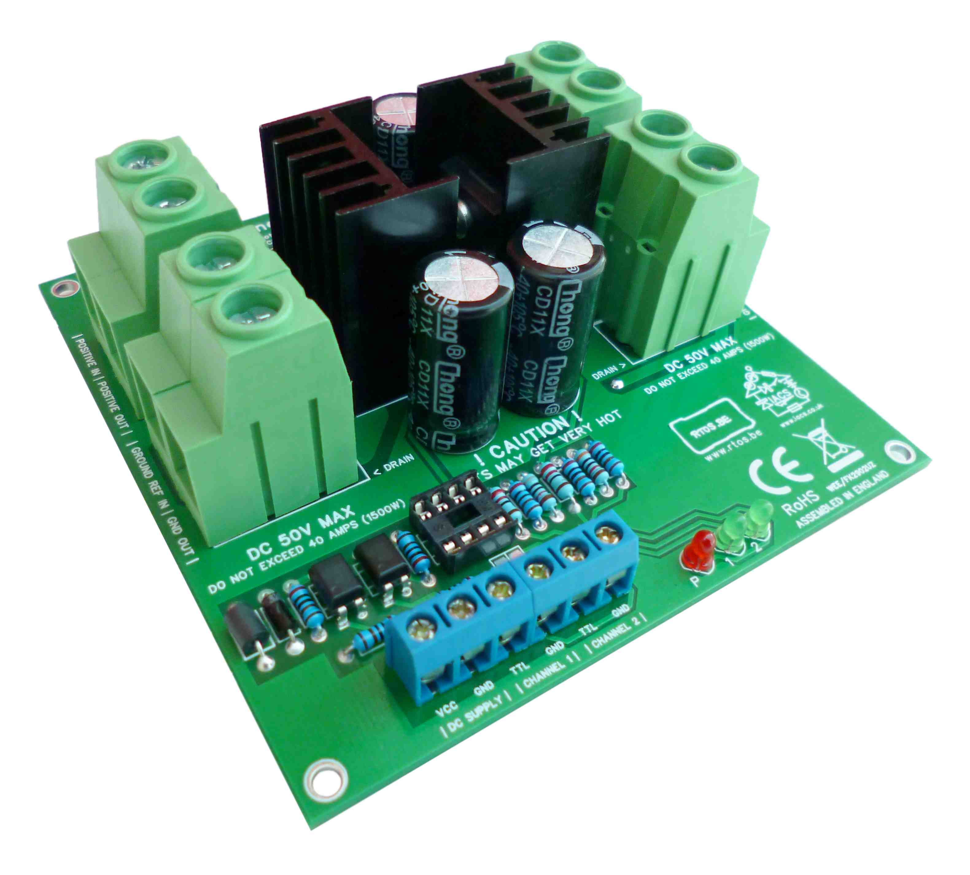 Charging A Deep Cycle Battery Via Low Side Mosfet Switching The 2 Way Switch Our Sensor Board That Enables Us To Read Volts And Amps