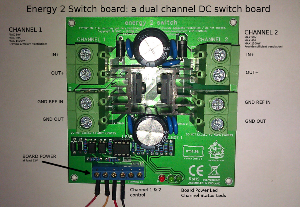 revised energy2switch board